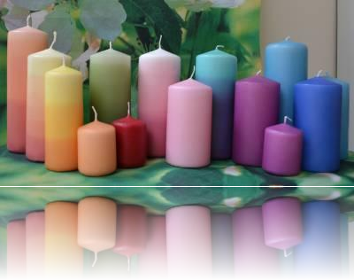 Colours of Candles