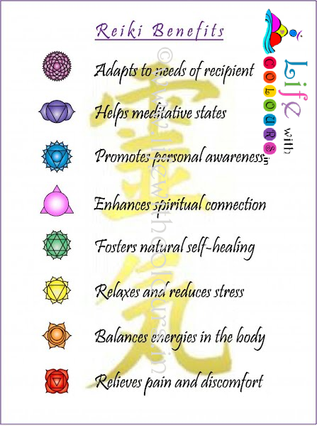 Reiki Benefits, Advance Benefits.